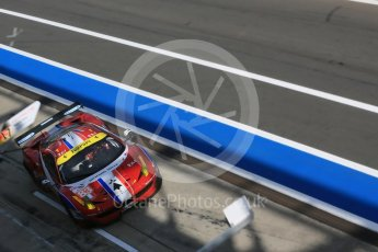 World © Octane Photographic Ltd. FIA World Endurance Championship (WEC), 6 Hours of Nurburgring , Germany - Race, Sunday 30th August 2015. AF Corse - F458 Italia GT2 - LMGTE - LMGTE Am – Francois Perrodo, Emmanuel Collard and Rui Aguas. Digital Ref : 1398LB5D1589