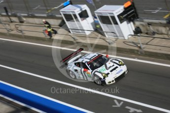 World © Octane Photographic Ltd. FIA World Endurance Championship (WEC), 6 Hours of Nurburgring , Germany - Race, Sunday 30th August 2015. Porsche Team Manthey – Porsche 911RSR - LMGTE Pro – Richard Lietz and Michael Chistensen. Digital Ref : 1398LB5D1634