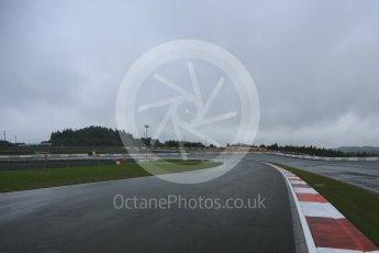World © Octane Photographic Ltd. FIA World Endurance Championship (WEC), 6 Hours of Nurburgring , Germany - Setup, Thursday 27th August 2015. A wet track for setup. Digital Ref : 1391LB5D0129