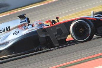 World © Octane Photographic Ltd. McLaren Honda MP4/30 – Jenson Button. Thursday 19th February 2015, F1 Winter testing, Circuit de Catalunya, Barcelona, Spain, Day 1. Digital Ref: 1187CB7B0350