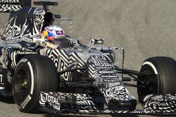 World © Octane Photographic Ltd. Infiniti Red Bull Racing RB11 – Daniel Ricciardo. Thursday 19th February 2015, F1 Winter testing, Circuit de Catalunia, Barcelona, Spain, Day 1. Digital Ref :1187CB7B0461