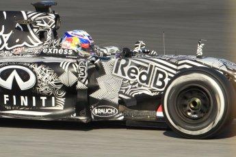 World © Octane Photographic Ltd. Infiniti Red Bull Racing RB11 – Daniel Ricciardo. Thursday 19th February 2015, F1 Winter testing, Circuit de Catalunia, Barcelona, Spain, Day 1. Digital Ref :1187CB7B0499