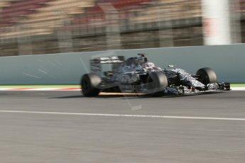 World © Octane Photographic Ltd. Infiniti Red Bull Racing RB11 – Daniel Ricciardo. Thursday 19th February 2015, F1 Winter testing, Circuit de Catalunia, Barcelona, Spain, Day 1. Digital Ref :1187CB7L1464