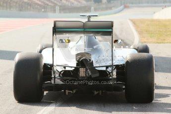 World © Octane Photographic Ltd. Mercedes AMG Petronas F1 W06 Hybrid – Pascal Wehrlein. Thursday 19th February 2015, F1 Winter testing, Circuit de Catalunya, Barcelona, Spain, Day 1. Digital Ref : 1187CB7L1511