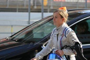 World © Octane Photographic Ltd. Williams Martini Racing FW37 – Susie Wolff. Thursday 19th February 2015, F1 Winter testing, Circuit de Catalunya, Barcelona, Spain, Day 1. Digital Ref: 1187LW1L5655