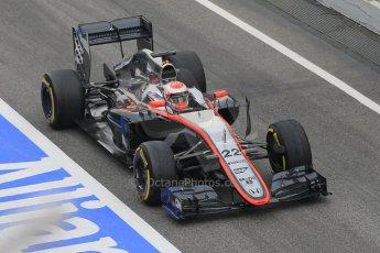World © Octane Photographic Ltd. McLaren Honda MP4/30 – Jenson Button. Saturday 21st February 2015, F1 Winter testing, Circuit de Barcelona Catalunya, Spain, Day 3. Digital Ref: 1190CB1L7130