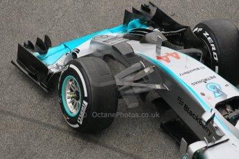 World © Octane Photographic Ltd. Mercedes AMG Petronas F1 W06 Hybrid – Lewis Hamilton. Saturday 21st February 2015, F1 Winter testing, Circuit de Barcelona Catalunya, Spain, Day 3. Digital Ref : 1190CB1L7246
