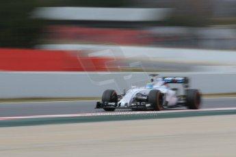 World © Octane Photographic Ltd. Williams Martini Racing FW37 – Felipe Massa. Saturday 21st February 2015, F1 Winter testing, Circuit de Barcelona Catalunya, Spain, Day 3. Digital Ref: 1190CB1L7752