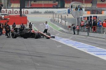 World © Octane Photographic Ltd. McLaren Honda MP4/30 – Jenson Button. Saturday 21st February 2015, F1 Winter testing, Circuit de Barcelona Catalunya, Spain, Day 3. Digital Ref: 1190CB1L7947