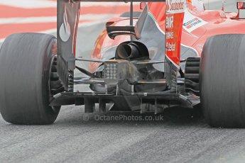 World © Octane Photographic Ltd. Scuderia Ferrari SF15-T– Sebastian Vettel. Saturday 21st February 2015, F1 Winter testing, Circuit de Barcelona Catalunya, Spain, Day 3. Digital Ref: 1190CB1L8021