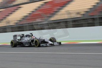World © Octane Photographic Ltd. Infiniti Red Bull Racing RB11 – Daniil Kvyat. Saturday 21st February 2015, F1 Winter testing, Circuit de Barcelona Catalunya, Spain, Day 3. Digital Ref : 1190CB1L8203