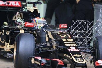 World © Octane Photographic Ltd. Lotus F1 Team E23 Hybrid – Pastor Maldonado. Saturday 21st February 2015, F1 Winter testing, Circuit de Catalunya, Barcelona, Spain, Day 3. Digital Ref : 1190LB1D7873