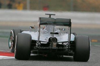 World © Octane Photographic Ltd. Mercedes AMG Petronas F1 W06 Hybrid – Lewis Hamilton. Saturday 21st February 2015, F1 Winter testing, Circuit de Catalunya, Barcelona, Spain, Day 3. Digital Ref : 1190LB1D8638