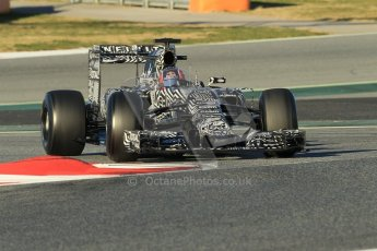 World © Octane Photographic Ltd. Infiniti Red Bull Racing RB11 – Daniil Kvyat. Sunday 22nd February 2015, F1 Winter testing, Circuit de Barcelona Catalunya, Spain, Day 4. Digital Ref : 1191CB1L8757