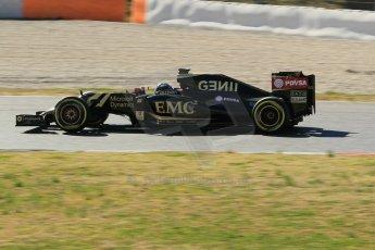 World © Octane Photographic Ltd. Lotus F1 Team E23 Hybrid – Romain Grosjean. Sunday 22nd February 2015, F1 Winter test #2, Circuit de Barcelona Catalunya, Spain, Day 4. Digital Ref :1191CB1L9383