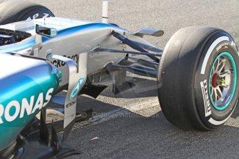 World © Octane Photographic Ltd. Mercedes AMG Petronas F1 W06 Hybrid – Nico Rosberg. Sunday 22nd February 2015, F1 Winter test #2, Circuit de Barcelona Catalunya, Spain, Day 4. Digital Ref : 1191CB7B0692