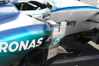 World © Octane Photographic Ltd. Mercedes AMG Petronas F1 W06 Hybrid – Nico Rosberg. Sunday 22nd February 2015, F1 Winter test #2, Circuit de Barcelona Catalunya, Spain, Day 4. Digital Ref : 1191CB7B0710