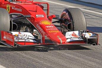 World © Octane Photographic Ltd. Scuderia Ferrari SF15-T– Sebastian Vettel. Sunday 22nd February 2015, F1 Winter test #2, Circuit de Barcelona Catalunya, Spain, Day 4. Digital Ref: 1191CB7B0744