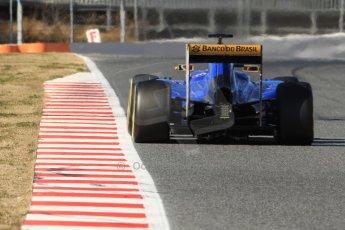 World © Octane Photographic Ltd. Sauber F1 Team C34-Ferrari – Felipe Nasr. Sunday 22nd February 2015, F1 Winter test #2, Circuit de Barcelona Catalunya, Spain, Day 4. Digital Ref : 1191CB7B0837