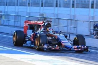 World © Octane Photographic Ltd. Scuderia Toro Rosso STR10 – Carlos Sainz Jnr. Sunday 22nd February 2015, F1 Winter testing, Circuit de Catalunya, Barcelona, Spain, Day 4. Digital Ref: 1191LB1D8966