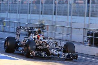 World © Octane Photographic Ltd. Infiniti Red Bull Racing RB11 – Daniil Kvyat. Sunday 22nd February 2015, F1 Winter testing, Circuit de Catalunya, Barcelona, Spain, Day 4. Digital Ref : 1191LB1D9021