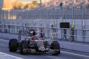 World © Octane Photographic Ltd. Infiniti Red Bull Racing RB11 – Daniil Kvyat. Sunday 22nd February 2015, F1 Winter testing, Circuit de Catalunya, Barcelona, Spain, Day 4. Digital Ref : 1191LB1D9077