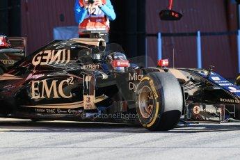 World © Octane Photographic Ltd. Lotus F1 Team E23 Hybrid – Romain Grosjean. Sunday 22nd February 2015, F1 Winter testing, Circuit de Catalunya, Barcelona, Spain, Day 4. Digital Ref : 1191LB1D9142