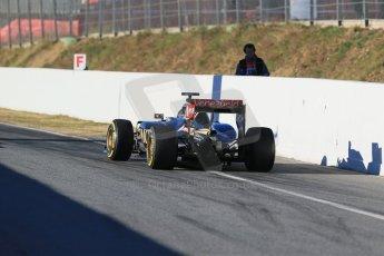 World © Octane Photographic Ltd. Lotus F1 Team E23 Hybrid – Romain Grosjean. Sunday 22nd February 2015, F1 Winter testing, Circuit de Catalunya, Barcelona, Spain, Day 4. Digital Ref : 1191LB1D9157