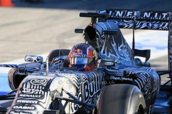 World © Octane Photographic Ltd. Infiniti Red Bull Racing RB11 – Daniil Kvyat. Sunday 22nd February 2015, F1 Winter testing, Circuit de Catalunya, Barcelona, Spain, Day 4. Digital Ref : 1191LB1D9180