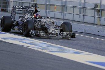 World © Octane Photographic Ltd. Infiniti Red Bull Racing RB11 – Daniil Kvyat. Sunday 22nd February 2015, F1 Winter testing, Circuit de Catalunya, Barcelona, Spain, Day 4. Digital Ref : 1191LB1D9204