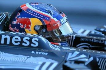 World © Octane Photographic Ltd. Infiniti Red Bull Racing RB11 – Daniil Kvyat. Sunday 22nd February 2015, F1 Winter testing, Circuit de Catalunya, Barcelona, Spain, Day 4. Digital Ref : 1191LB1D9284