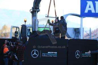 World © Octane Photographic Ltd. Mercedes AMG Petronas F1 W06 Hybrid – Nico Rosberg. Sunday 22nd February 2015, F1 Winter testing, Circuit de Catalunya, Barcelona, Spain, Day 4. Digital Ref : 1191LB1D9407