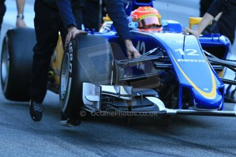 World © Octane Photographic Ltd. Sauber F1 Team C34-Ferrari – Felipe Nasr. Sunday 22nd February 2015, F1 Winter testing, Circuit de Catalunya, Barcelona, Spain, Day 4. Digital Ref : 1191LB1D9502
