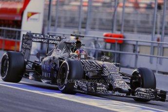 World © Octane Photographic Ltd. Infiniti Red Bull Racing RB11 – Daniil Kvyat. Sunday 22nd February 2015, F1 Winter test #2, Circuit de Catalunya, Barcelona, Spain, Day 4. Digital Ref : 1191LB1D9531