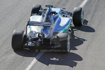 World © Octane Photographic Ltd. Mercedes AMG Petronas F1 W06 Hybrid – Nico Rosberg. Sunday 22nd February 2015, F1 Winter test #2, Circuit de Barcelona, Catalunya, Spain, Day 4. Digital Ref : 1191LB1D9602