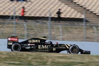 World © Octane Photographic Ltd. Lotus F1 Team E23 Hybrid – Romain Grosjean. Sunday 22nd February 2015, F1 Winter test #2, Circuit de Barcelona, Catalunya, Spain, Day 4. Digital Ref :1191LB1D9721