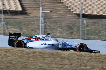 World © Octane Photographic Ltd. Williams Martini Racing FW37 – Valtteri Bottas. Sunday 22nd February 2015, F1 Winter test #2, Circuit de Barcelona, Catalunya, Spain, Day 4. Digital Ref: 1191LB1D9846