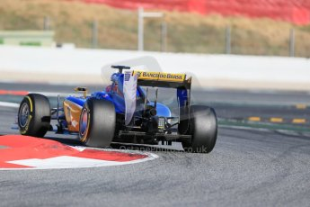 World © Octane Photographic Ltd. Sauber F1 Team C34-Ferrari – Felipe Nasr. Sunday 22nd February 2015, F1 Winter test #2, Circuit de Barcelona, Catalunya, Spain, Day 4. Digital Ref : 1191LB1D9908