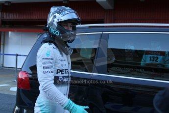 World © Octane Photographic Ltd. Mercedes AMG Petronas F1 W06 Hybrid – Nico Rosberg. Sunday 22nd February 2015, F1 Winter test #2, Circuit de Catalunya, Barcelona, Spain, Day 4. Digital Ref : 1191LB7L6382
