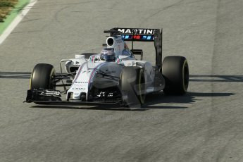 World © Octane Photographic Ltd. Williams Martini Racing FW37 – Valtteri Bottas. Sunday 1st March 2015, F1 Winter test #3, Circuit de Barcelona-Catalunya, Spain Test 2 Day 4. Digital Ref: 1195CB1L4561