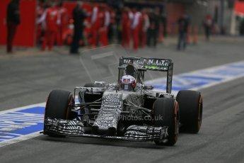 World © Octane Photographic Ltd. Infiniti Red Bull Racing RB11 – Daniel Ricciardo. Sunday 1st March 2015, F1 Winter test #3, Circuit de Barcelona-Catalunya, Spain Test 2 Day 4. Digital Ref : 1195LB1D3301
