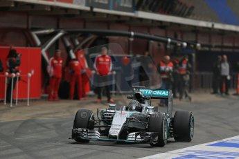 World © Octane Photographic Ltd. Mercedes AMG Petronas F1 W06 Hybrid – Nico Rosberg. Sunday 1st March 2015, F1 Winter test #3, Circuit de Barcelona-Catalunya, Spain Test 2 Day 4. Digital Ref : 1195LB1D3337