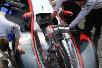 World © Octane Photographic Ltd. McLaren Honda MP4/30 – Jenson Button. Sunday 1st March 2015, F1 Winter test #3, Circuit de Barcelona-Catalunya, Spain Test 2 Day 4. Digital Ref: 1195LB1D3793