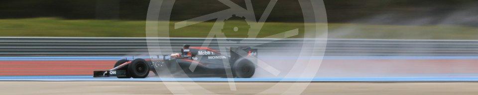 World © Octane Photographic Ltd. Pirelli wet tyre test, Paul Ricard, France. Monday 25th January 2016. McLaren Honda MP4/30 – Stoffel Vandoorne. Digital Ref: 1498CB7D5201