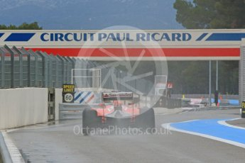 World © Octane Photographic Ltd. Pirelli wet tyre test, Paul Ricard, France. Monday 25th January 2016. Ferrari SF15-T – Kimi Raikkonen. Digital Ref: 1498CB7D5499