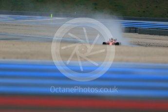 World © Octane Photographic Ltd. Pirelli wet tyre test, Paul Ricard, France. Monday 25th January 2016. Ferrari SF15-T – Kimi Raikkonen. Digital Ref: 1498LB1D5686