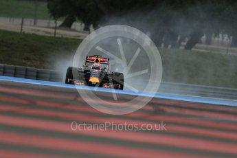 World © Octane Photographic Ltd. Pirelli wet tyre test, Paul Ricard, France. Monday 25th January 2016. Red Bull Racing RB11 – Daniel Ricciardo. Digital Ref: 1498LB1D5858