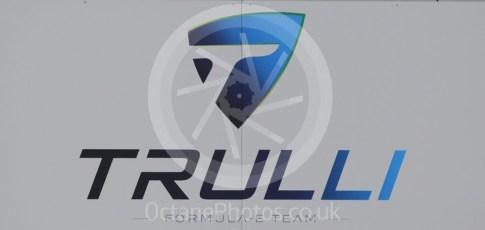World © Octane Photographic Ltd. 5th February 2016 – Donington Park Formula e HQ. Trulli Formula e team logo. Digital Ref : 1501CB1D0448