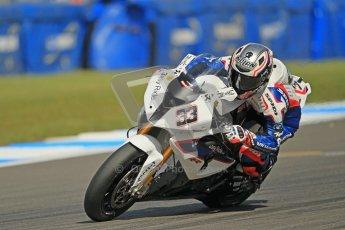 © Octane Photographic Ltd. 2012 World Superbike Championship – European GP – Donington Park. Friday 11th May 2012. WSBK Friday Qualifying practice. Marco Melandri - BMW S1000RR. Digital Ref : 0330cb1d3108