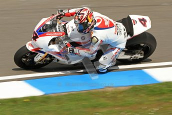 © Octane Photographic Ltd. 2012 World Superbike Championship – European GP – Donington Park. Friday 11th May 2012. WSBK Friday Qualifying practice. Hiroshi Aoyama - Honda CBR1000RR. Digital Ref : 0330cb7d1477